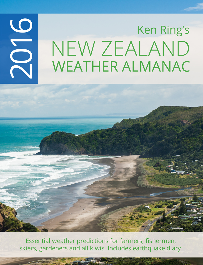 Weather Almanac for NZ 2016