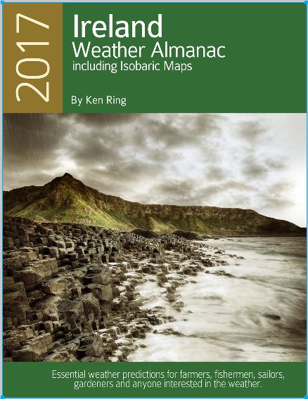 Weather Almanac for Ireland 2017 - now half price