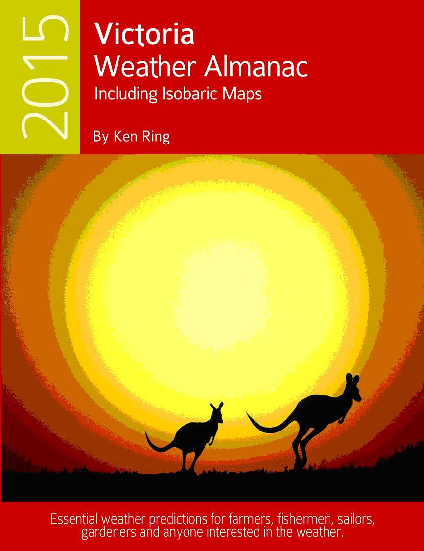 Australian Weather almanacs for 2015
