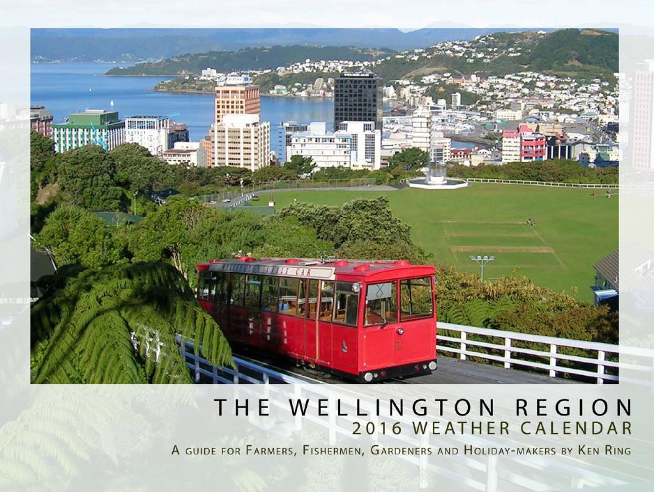 2016 Weather Calendars for NZ regions
