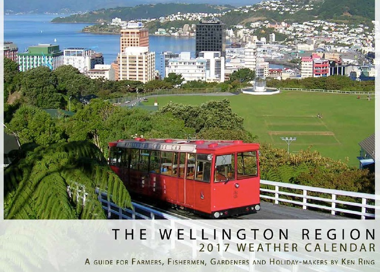 2017 Weather Calendars for NZ regions (half price)
