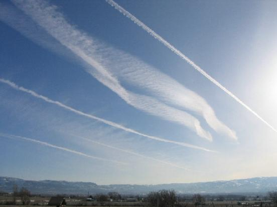 Chem-trails and earthquakes