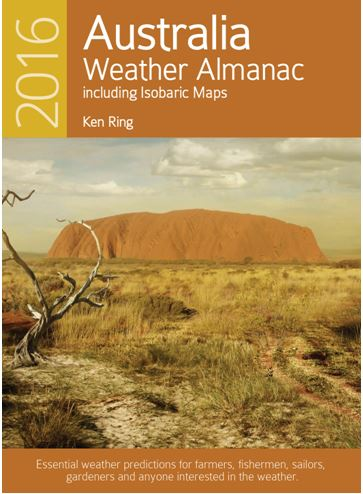 Weather Almanac for Australia 2016