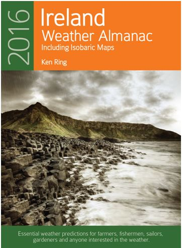 Weather Almanac for Ireland 2016