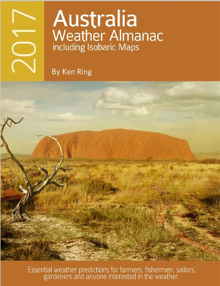 Weather Almanac for Australia 2017