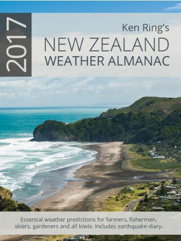 Weather Almanac for NZ 2017